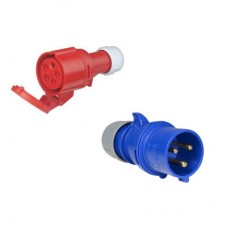 Câble adaptateur CEE 5 broches 32A (TRI) vers 3 broches 32A (MONO)