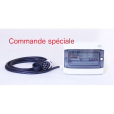 Wallbox avec cable Type 2 - 22kWh - commande speciale