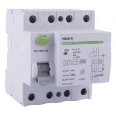 Interrupteur Différentiel NOARK 3P+N 40A 30mA Type B