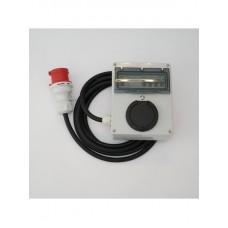 Wallbox Portable avec disjoncteur intégré - triphasé 22kW  (puissance variable de 3,7 à 22kw)