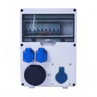 WallBox avec disjoncteur monophasé 7kW (puissance variable de 1,5 à 7kw)